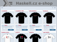 Haskell e-shop